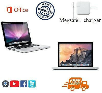"""Apple MacBook Pro 13.3"""" (C2D) - 4GB - 250GB - 12 Month warranty (With Office)"""