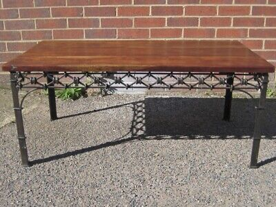 Laura Ashley vintage style solid rosewood oblong coffee occasional side table