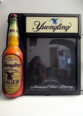 Yuengling Beer Bottle Bar/Pub Light Up Message Board Sign Mancave NICE!