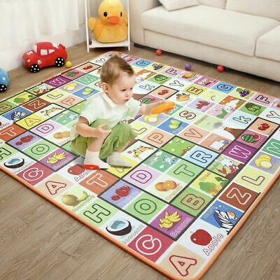 Baby Play Mat Thickening Eco-friendly Children Kids Soft Playmat 200*180*1.5 Cm