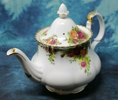Royal Albert Old Country Roses Teapot (A1) Free Shipping