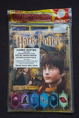 2001 Harry Potter and the Philosophers Stone panini complete sticker album