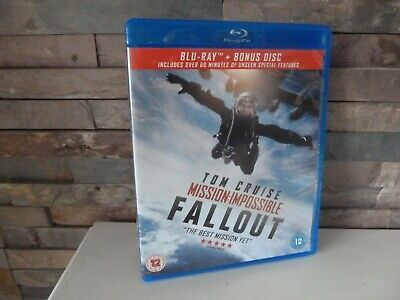 Mission Impossible : Fallout Blu Ray. Fast/Free Post