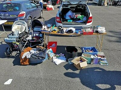 Large Mixed Bundle Of Household / Garage Items Car Boot Job Lot