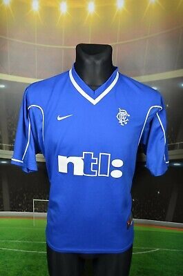 Classic 1999-2001 Glasgow Rangers Fc Mens Football Home Nike Shirt Size Small
