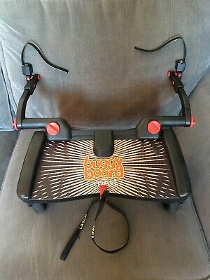 Lascal Maxi Buggy Board Complete With Un -cut Adapters /Strap/