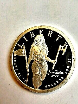 1oz Silver SBSS Tree Of Life, Freedom Girl Hatchet One, Proof Coin