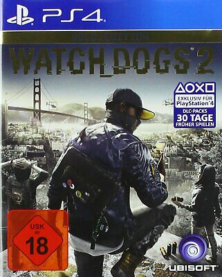 PS4 Game Watch Dogs 2 - Gold Edition New Product