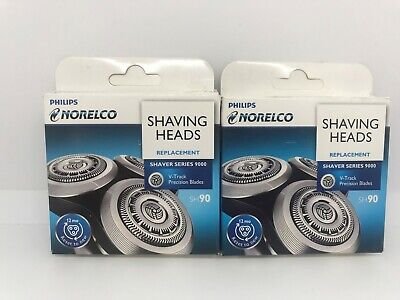 Lot of 2 Genuine OEM Philips Norelco SH90 Replacement Shaving Heads New In Box