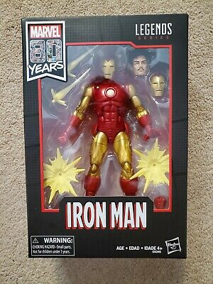 Hasbro Marvel Legends 80 Years Classic Iron Man -New/Sealed -