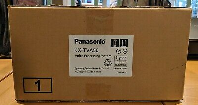 Panasonic KX-TVA50 Voicemail System with AC Adaptor, power cord, QTY 2 Available