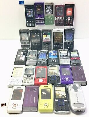Lot Of 27 Sony Ericsson Dummy Fake Toy Prop Various Cell Phones B1143