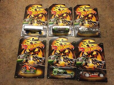 2019~ Halloween Edition HOT WHEELS ~Complete Set of 6 Cars