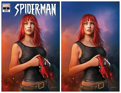 Comic Book Variant Set Spider-man 1 Shannon Maer NM+
