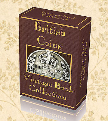 190 Vintage Books British Coinage Coins Collecting Tokens Ancient Medals UK 235