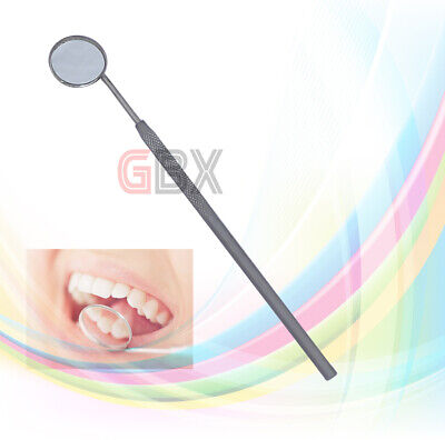 Mouth Mirror handle + mouth mirror 22 mm + dental oral teeth inspection mirror