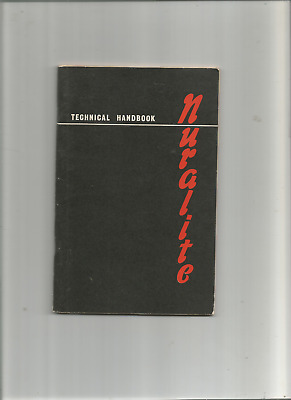 Nuralite Technical Handbook 'For Roof Covering and Flashings' March 1969