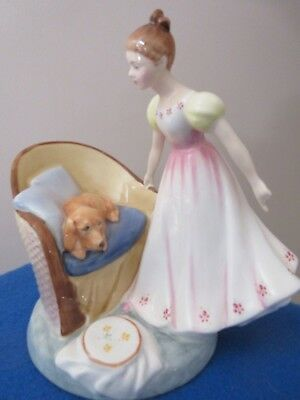 """Royal Doulton Figurine """"Beat You To It"""" HN 2871 Mint"""
