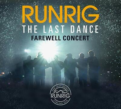RUNRIG 'THE LAST DANCE : FAREWELL CONCERT' (Live at Stirling) 3 CD Set (2019)