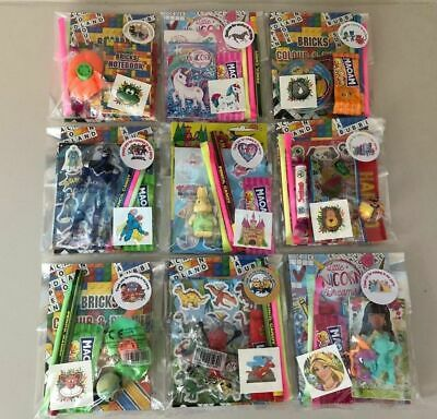Pre filled kids / childrens party bags - boys / girls / unisex - ready made