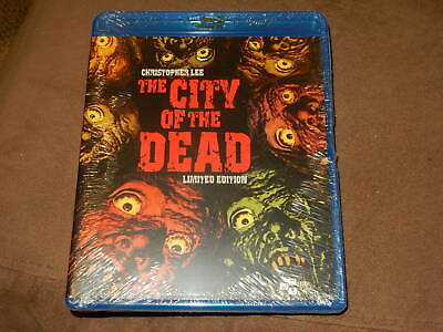 """Brand New/Sealed """"The City Of The Dead"""" Limited Edition Blu-Ray Oop Region A"""
