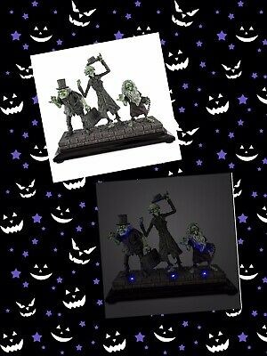 Disney Haunted Mansion Hitchhiking Ghosts Light Up Figurine 50th Anniversary