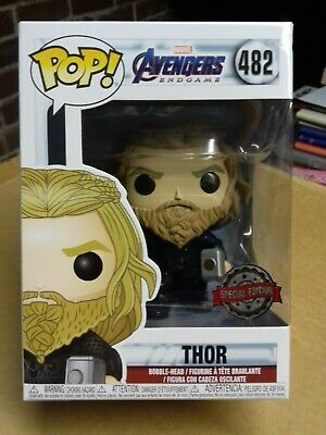 Funko Pop Vinyl Avengers Endgame Thor with Weapons 482 Special Edition