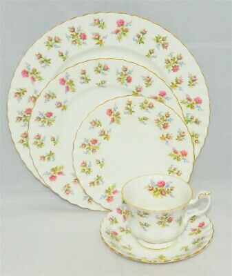 1-Royal Albert Winsome 5 piece Place Setting ( 11 Available)