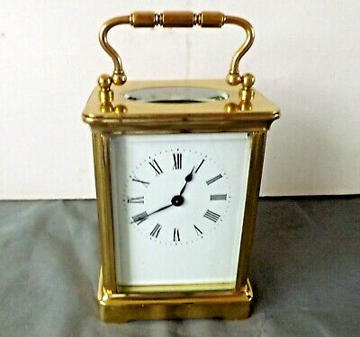 ANTIQUE FRENCH CARRIAGE CLOCK R & Co (Richard et Cie) PARIS. GWO. Ca 1890