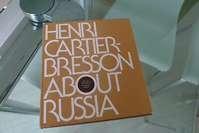 "Henri Cartier-Bresson: ""About Russia"". Thames & Hudson 1974"