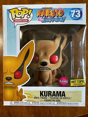 Funko POP naruto kurama flocked #73. Hot Topic Exclusive. Funko Animation.