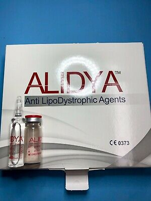 ALIDYA (new AQUALYX) Cellulite and Fat Dissolving Treatment ( Powder + Solvent)
