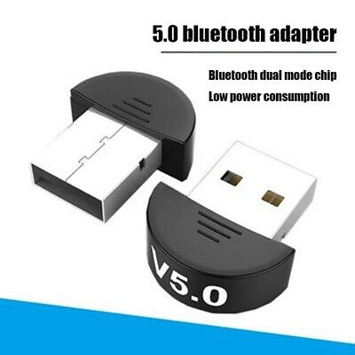 USB 5.0 Bluetooth Adapter Wireless Dongle High Speed for PC Windows Computer New