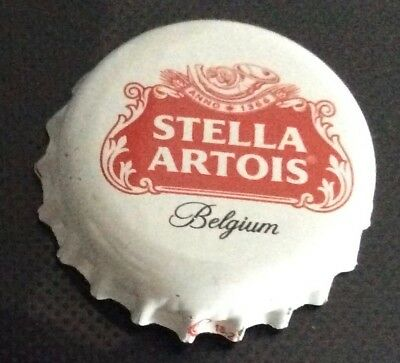 Stella Artois Belgium bottle top bottle cap pin badge, new