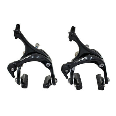 Tektro Brake Set For TT Bike Road Bicycle Frameset Front R525F Rear R725R Black