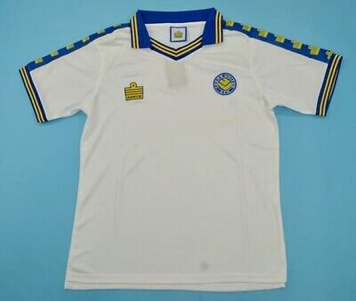 Leeds United 1976/77 Classic Retro Admiral Home Jersey Size XL