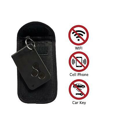 1x  Car Key Signal Blocker RFID Faraday Protection Keyless Anti-Theft Pouch Bag