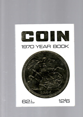Coin Monthly 1970 Year Book In Vg Condition No Inscriptions