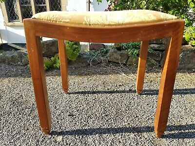 A Nicely Shaped Old Art Deco Stool in Need of Some TLC/Upcycle/Shabby Chic