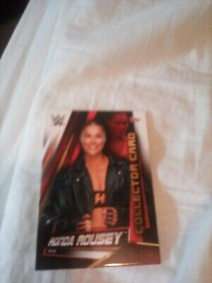 Slam Attax Universe Collector Card Ronda Rousey