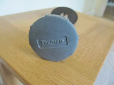TRIUMPH STEERING DAMPER KNOB T100 T120 TR6. Genuine Part