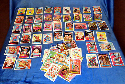 85 Cards Garbage Pail KIds Lot 2 1986 1987 See pics for detail