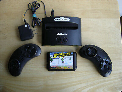 AtGames Sega Genesis  Game Console 81 Games, 2 wireless controllers Included