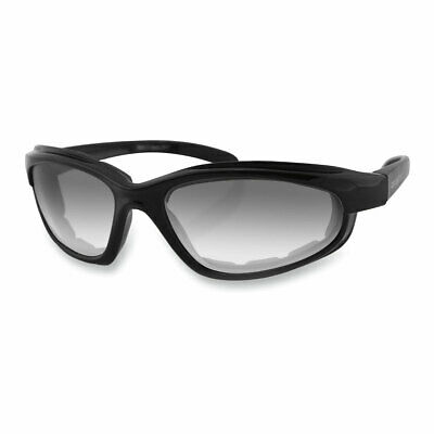 Bobster Fat Boy Adventure  Sunglasses Black With Photochromic Clear Lenses