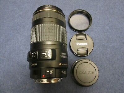 Canon EF 70-300mm 1:4-5.6 Zoom Ultrasonic Camera Lens USM IS Stabilization