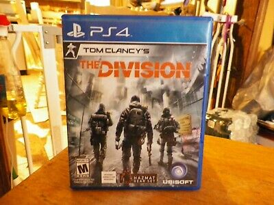 Tom Clancy's The Division PS4 tested works great condition great