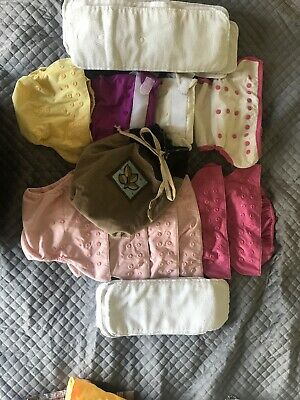 Bumgenius Pockets, Flips, 15 Inserts, Ecobum Cloth Diapers Girls