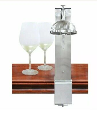 Il Romanzo CO2 Glass Chiller Silver By Vinotemp