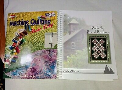 Machine Quilting Made Easy  Plus Perfect Borders