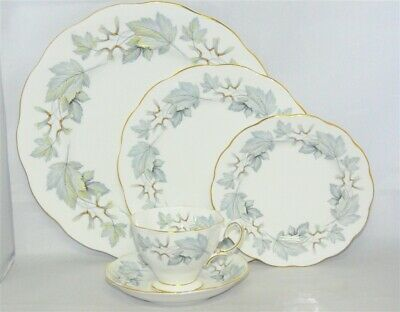 Royal Albert Silver Maple 5 piece Place Setting ( 14 Available )